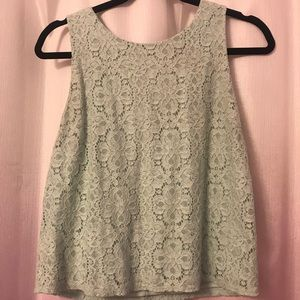 Forever 21 mint green tank top